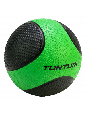 Medicine Ball - Tunturi - Green/Black - 2 kg