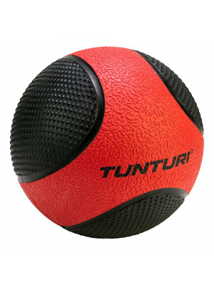 Medicine Ball - Tunturi - Red/Black - 3 kg