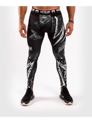Spats - Venum - 'GLDTR 4.0' - Black/White - Compression