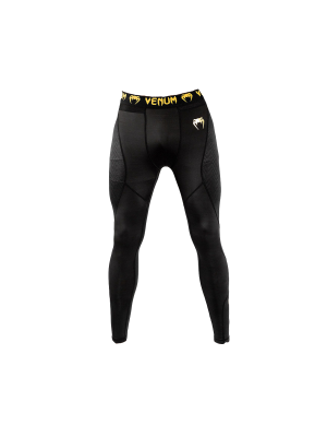 Spats - Venum - 'G-Fit' - Black/Gold