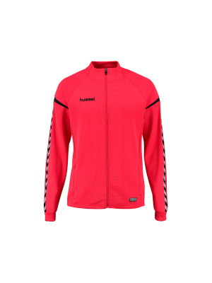 Jakke - Hummel - Auth. Charge Poly Zip - Junior - Rød