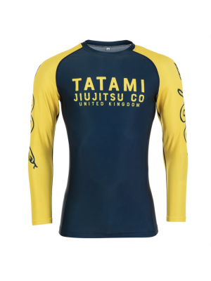 Rash Guard - Tatami fightwear - 'Supply Co' - Black - Long sleeve
