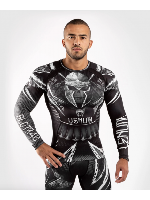 Rash Guard - Venum - 'GLDTR 4.0' - Black/White