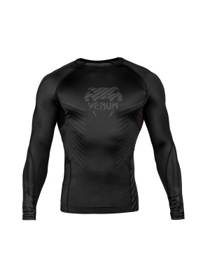 Rash guard - Venum - 'Plasma' - Black